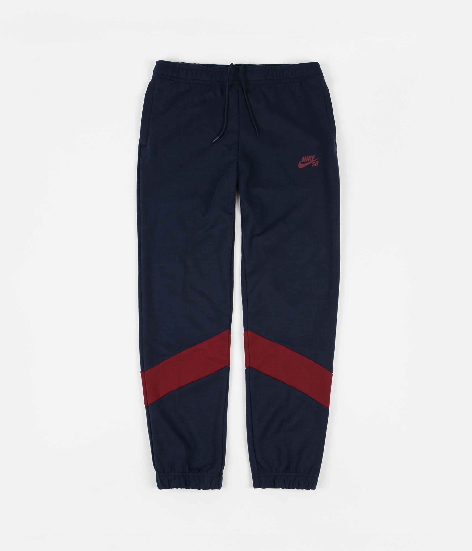 Jogging NIKE SB DRY ICON TRACK PANT OBSIDIAN TEAM RED