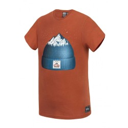 T-SHIRT PICTURE ORGANIC KID BEANY - BRICK