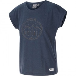 T-SHIRT PICTURE ORGANIC LIZ WMN - DARK BLUE
