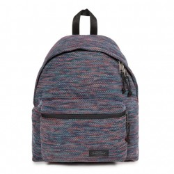 SAC A DOS EASTPAK PADDED 86X - KNITTED RAINBOW