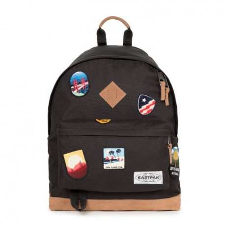 SAC EASTPAK WYOMING 82X INTO PATCH - BLACK