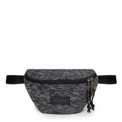 SACOCHE EASTPAK SPRINGER 44W - KNITTED BLACK