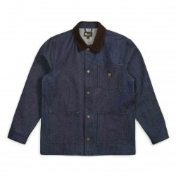 VESTE BRIXTON X INDEPENDENT YARD DENIM - RAW INDIGO