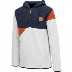 SWEAT PICTURE ORGANIC LIO HOODY - GREY MELANGE