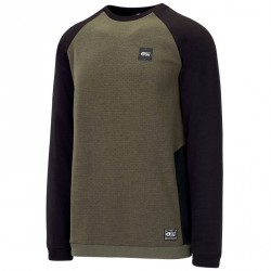SWEAT PICTURE ORGANIC PLAYER - DARK ARMY GREEN