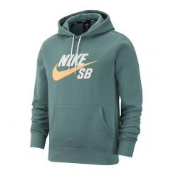 SWEAT NIKE SB ICON PO HOODIE - BICOASTAL CELESTIAL GOLD