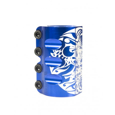 COLLIER DE SERRAGE INFINITY MAYAN - BLUE