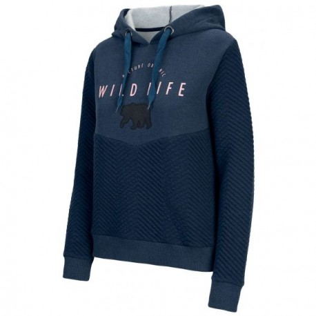 SWEAT PICTURE ORGANIC LOUANE HOODY - DARK BLUE