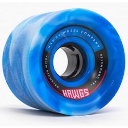 ROUES HAWG WHEELS 78A 70MM - BLUE SWIRL