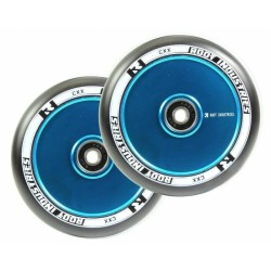 ROUE ROOT INDUSTRIES AIR WHEELS 120MM - BLACK SKY BLUE