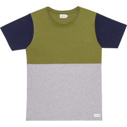 T-SHIRT BASK IN THE SUN TEOFILO - KAKI