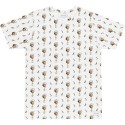 T-SHIRT BASK IN THE SUN COCKTAIL - WHITE