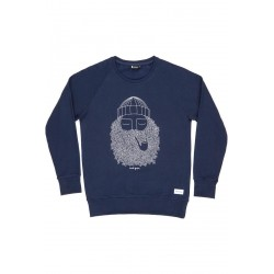 SWEAT BASK IN THE SUN SMOKING PIPE - NAVY
