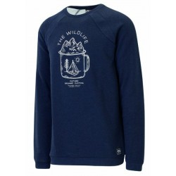 SWEAT PICTURE ORGANIC LIFER CREW - DARK BLUE