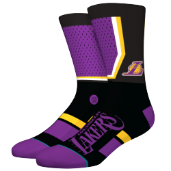CHAUSSETTES STANCE NBA ARENA LAKERS SHORTCUT