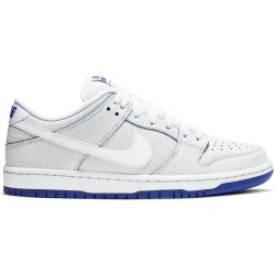 CHAUSSURES NIKE SB DUNK LOW PRO PREMIUM - WHITE ROYAL