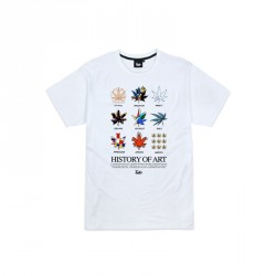 T-SHIRT TEALER HISTORY OF ART - WHITE