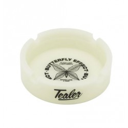 CENDRIER TEALER ASHTRAY BUTTERFLY GLOW - WHITE