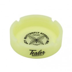 CENDRIER TEALER ASHTRAY BUTTERFLY GLOW - YELLOW