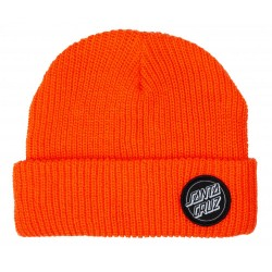 BONNET SANTA CRUZ OUTLINE DOT - FLURO ORANGE