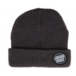 BONNET SANTA CRUZ OUTLINE DOT - BLACK