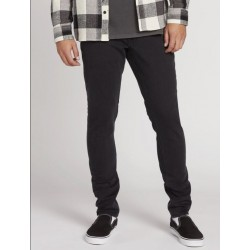 JEAN VOLCOM VORTA TAPERED - INK BLACK