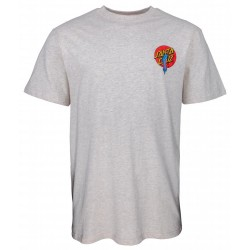 T-SHIRT SANTA CRUZ ROB DOT - ATHLETIC HEATHER