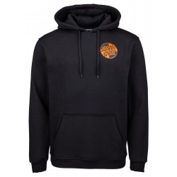 SWEAT SANTA CRUZ CRASH DOT HOOD - BLACK