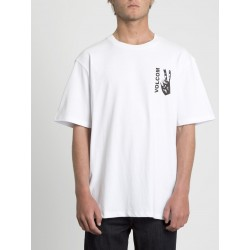T-SHIRT VOLCOM PEACE GRID BXY SS - WHITE