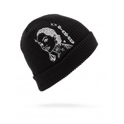 BONNET VOLCOM MIKE GIANT BEANIE - BLACK
