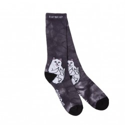 CHAUSSETTES RIPNDIP LORD NERMAL SOCKS - BLACK LIGHTNING