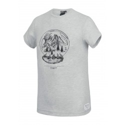 T-SHIRT PICTURE ORGANIC KID BOOLY - GREY