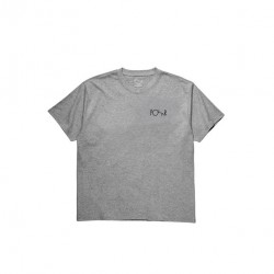 T-SHIRT POLAR FILL LOGO TEE - HEATHER GREY