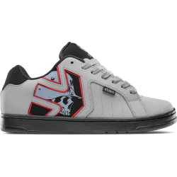 CHAUSSURES ETNIES METAL MULISHA FADER 2 - GREY BLACK RED