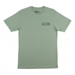 T-SHIRT WELCOME LATIN TALISMAN - SAGE