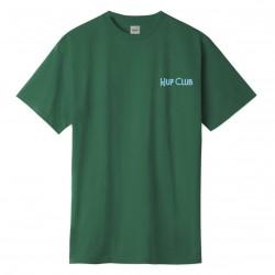 T-SHIRT HUF CLUB - BOTANICAL GREEN