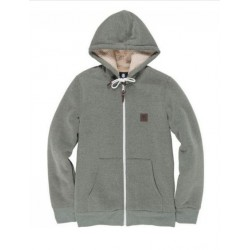 SWEAT ELEMENT HEAVY SHERPA ZIP - FOREST NIGHT HEAT