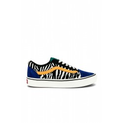 CHAUSSURES VANS OLD SKOOL COMFYCUSH - ZEBRA TIDEPOOL