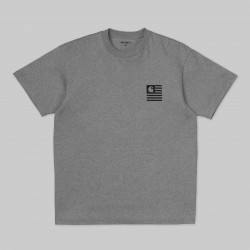 T-SHIRT CARHARTT WIP INCOGNITO - GREY HEATHER