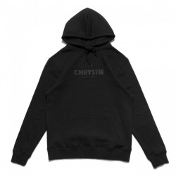 SWEAT CHRYSTIE NYC OG LOGO HOODIE - BLACK