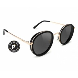 LUNETTES GLASSY LINCOLN POLARIZED - BLACK GOLD