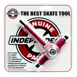 OUTIL MULTIFONCTION INDEPENDENT BEST SKATE TOOL - RED