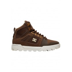 CHAUSSURES DC SHOES PURE HIGH TOP WR BOOT - BROWN