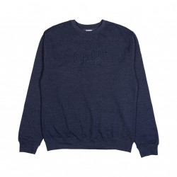 SWEAT RIPNDIP GREAT WAVE CREWNECK - NAVY