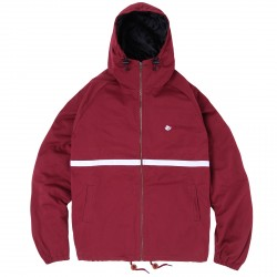 VESTE MAGENTA HOODED JACKET - BURGUNDY