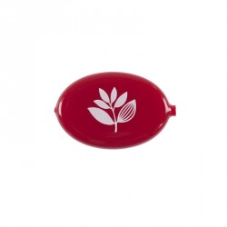 PORTE-MONNAIE MAGENTA EGG COIN HOLDER - RED