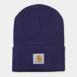BONNET CARHARTT ACRYLIC WATCH HAT - ROYAL VIOLET
