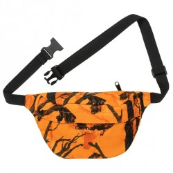 BANANE CARHARTT WIP PAYTON HIP BAG - CAMO TREE ORANGE BLACK