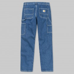 PANTALON CARHARTT WIP RUCK SINGLE KNEE - BLUE STONE WASHED