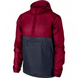 VESTE NIKE SB ANORAK - TEAM RED DARK OBSIDIAN